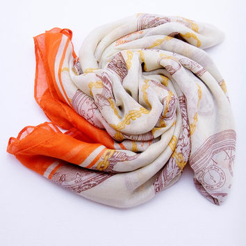 Time Travel Scarf Taupe