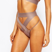 ASOS Extreme Risky Business Fishnet High-Waisted Pant
