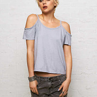 Don't Ask Why Thin Strap T-Shirt, Blue