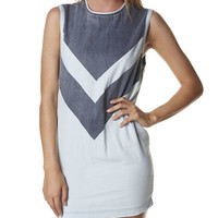 CAMILLA AND MARC AVEC DRESS - PALE BLUE NAVY
