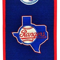 """Texas Rangers  MLB Embroidered Wool Heritage 32"""" Banner Pennant"""