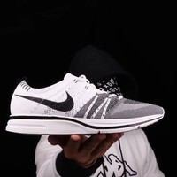 "Nike Flyknit Trainer ""White"" Men Running Sneaker Shoes YX0403-QPP"