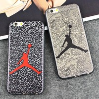 Basketball Michael Jordan Silicone Silicon Rubber Soft Phone Cover Fundas Capinha Coque Case For Apple iPhone 7 Plus iPhone7