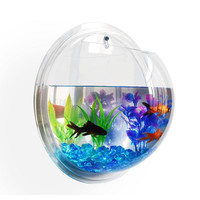 Wall Mounted Hanging Bubble Fish Bowl