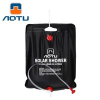 Outdoor Hiking Camping Solar Shower Bags 40L Portable Water Bag Outdoor Bathing#