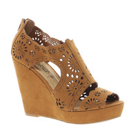 New Look Rosie Cut Out Wedge Shoes