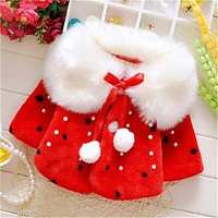 2017 Fashion Kids clothes winter fur coat for girls baby clothes parka elegant clothing for girls girl outerwear luxury faux fur