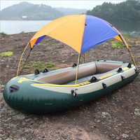 2-person inflatable boat sun shelter fishing tent shade-shed seahawks rubber boat sunscreen