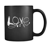 Love - Black Coffee Mug