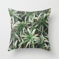 Aloe, mate. Throw Pillow by CMcDonald