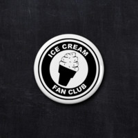 Ice Cream fan club button