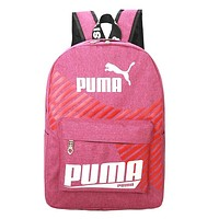Puma Women Men Fashion Leather Shoulder Bag Handbag Backpack