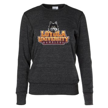 Official NCAA Loyola University, Chicago Ramblers Women's Crew Neck Sweatshirt