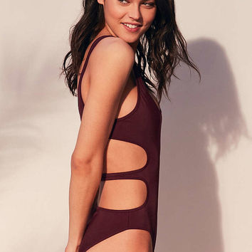 Without Walls Katie Reversible Cutout One-Piece Swimsuit - Urban Outfitters