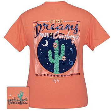 Girlie Girl Originals Preppy Chase Dreams Cactus T-Shirt