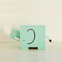 Elephant Tissue Holder - Ships March 29th