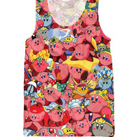 Kirby Collage Tank Top