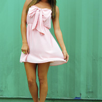 Bow For The Princess Dress: Pink | Hope's