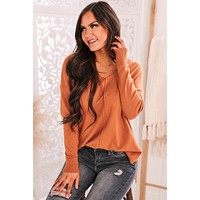 Stay With Me Sweater (Cinnamon)