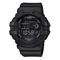 Ladies' Casio Baby-G Digital Matte Black Resin Watch