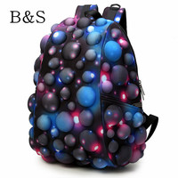 2016 Harajuku Colorful Galaxy Sport Style Backpack Camouflage Motorcycle School Bags Cool Computer Laptop Male Bagpack Mochila
