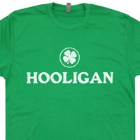 Irish Hooligan T Shirt Ireland Hooligan Shirt Vintage Irish Pub Shirt