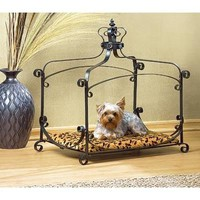 Royal Splendor Jewel Studded Dog And Cat Pet Bed