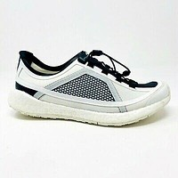 Adidas Stella McCartney Pulse Boost HD White Black Womens Trainers G28329