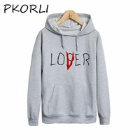 Pkorli Pennywise 2017 It Loser Sweatshirt Men Women The Losers Club Hoodie Casual Unisex Loser Club Sweatshirts Loser Lover Hood