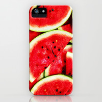 Watermelon - for iphone iPhone & iPod Case by Simone Morana Cyla