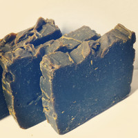 Tea Tree Activated Charcoal Facial Soap - Skin Care Soothe Acne prone Oily Skin - Lemongrass Vegan Organic Products