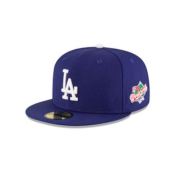 "New Era ""Los Angeles Dodgers"" 1988 World Series Grey Bottom 59Fifty Fitted Hat"