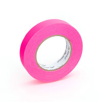 Neon Pink Paper Tape