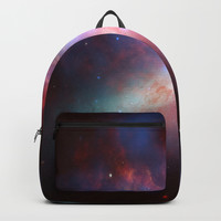 Cosmic Galaxy Backpack by allisone