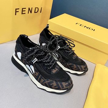 FENDI  Woman's Men's 2021 New Fashion Casual Shoes Sneaker Sport Running Shoes0511yph