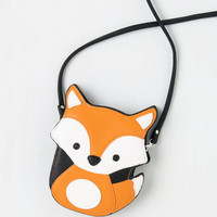 Quirky Critter-cal Mass Bag in Fox by ModCloth