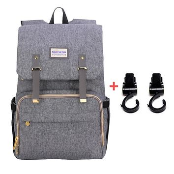 Fashion Diaper Bag Large Capacity Travel Backpack