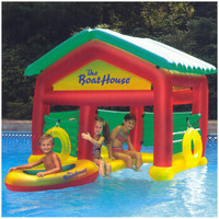 Heritage Pools Boat House Floating Pool Habitat