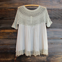 desert wanderer knit tunic - final sale