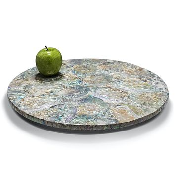 Mother of Pearl - Natural Revolving Tray