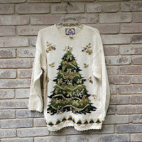 Tacky Ugly Christmas Sweater Women's Large/XL