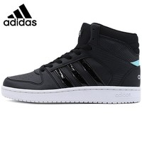 Original New Arrival  Adidas NEO Label VS HOOPSTER MID W Women's Skateboarding Shoes Sneakers