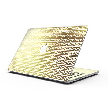 Golden Greek Pattern - MacBook Pro with Retina Display Full-Coverage Skin Kit