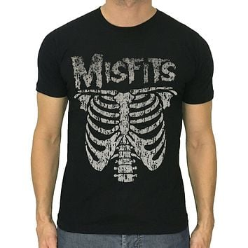 Details about MISFITS t shirt skeleton American horror punk band glenn Danzig size S to 5XL|T-Shirts