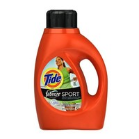 Tide with Febreze Freshness Sport Active Fresh Scent Detergent, 50 Ounce (Pack of 2)