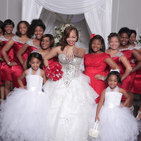 Our Happy Clients Love Our Dream Dresses 4 from YZ Fashion Bridal