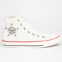 Converse Chuck Taylor All Star Hi Womens Shoes White  In Sizes