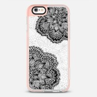 Mandala black flower iPhone 6s case by Julia Grifol Diseñadora Modas-grafica | Casetify