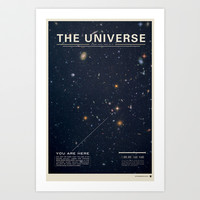The Universe Art Print by Mike Gottschalk
