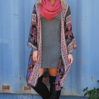 Chill In The Air Cardigan: Multi